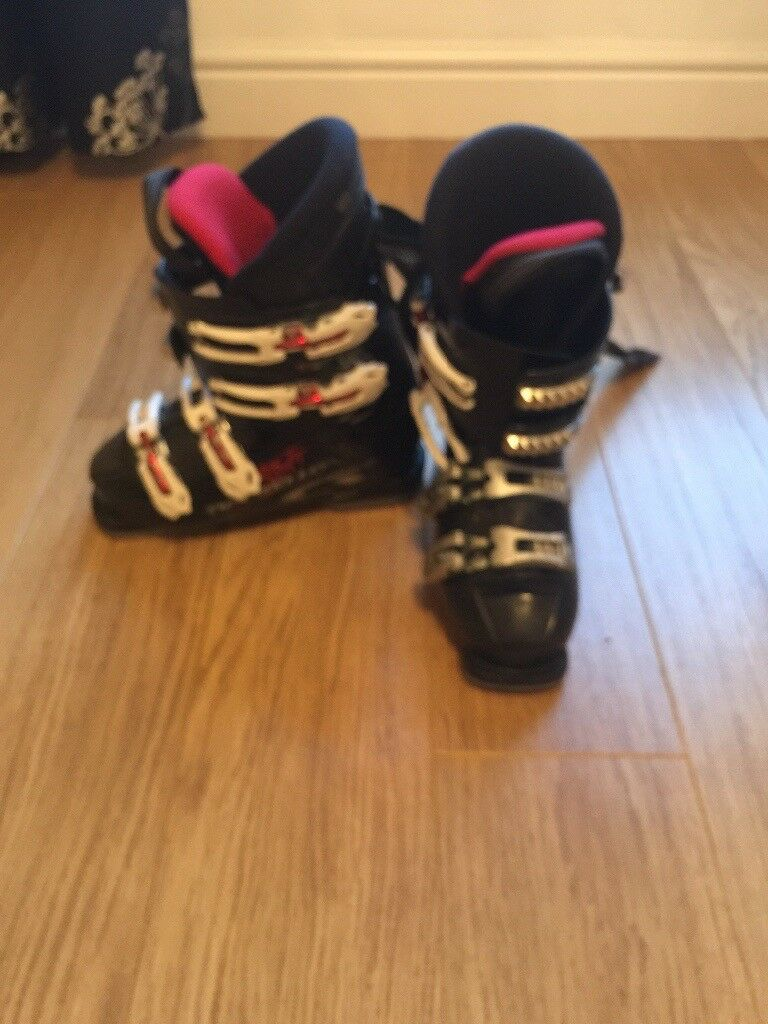 Ski boots size 3 (22.5) worn, but lots of life left in them