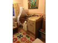 Oak nursery furniture set