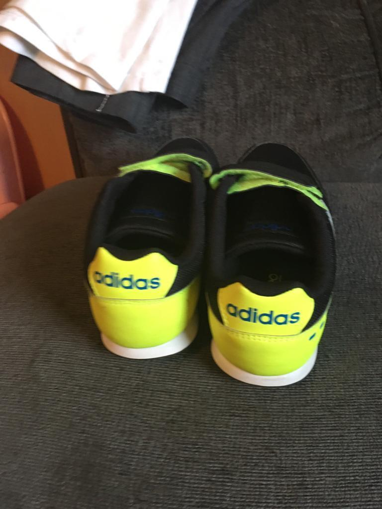 Boys adidas neo trainers size 1 worn once