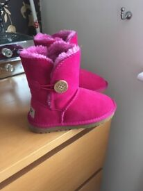 Pink girls ugg boots for sale