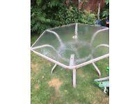 Garden furniture in need of TLC