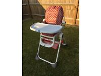 Chicco Baby High Feeding Chair & Tray