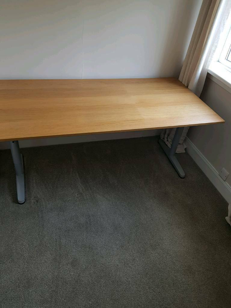 Ikea Galant 13662 Desk With Height Adjule Legs In Stirling