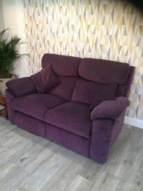 Electric 2 seater reclining sofa