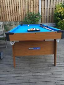 BCE Le Club 6ft Pool table