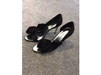 Karen millen black sandals high heel shoes