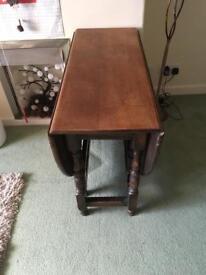 Drop leaf table £35