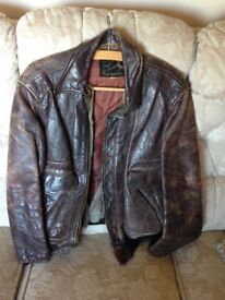 WW2 American Leather Flying Jacket