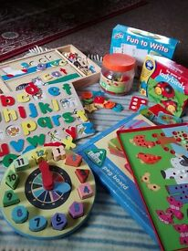 Preschool learning toys bundle