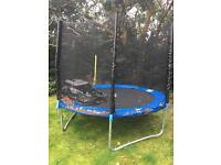 8 FOOT TRAMPOLINE FOR FREEEEEEE!!!!!!