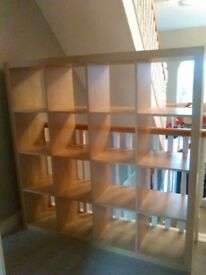 Ikea shelving unit . As new.