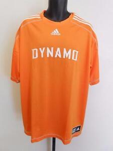 baad49f5a NEW MLS Houston Dynamo Adult Mens Size 2XL 2XLarge Adidas Climalite Jersey