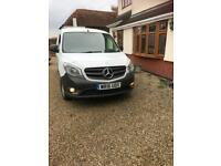 MERCEDES CITAN 109 DIESEL ....NO VAT... 2016 16 PLATE EXTRA LONG CAT D REPAIRED