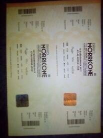 Morricone concert ticketsx2 for Poland 14/10/17