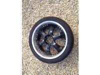 part worn tyre 285/35/22 sunitrac focus 9000