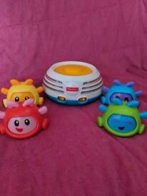 Fisher price bright beats build stacker