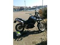 Motorbike Aprilla Pegaso 650 cc 2008 reg
