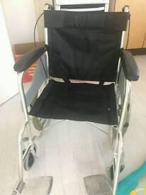 Lightweight Luxury Aluminum Folding Wheelchair.