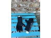 Winter wetsuit, hood and boots for sale