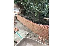 All brickwork and pointing done to a very high standard.