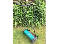 Bosch lawn mower push along