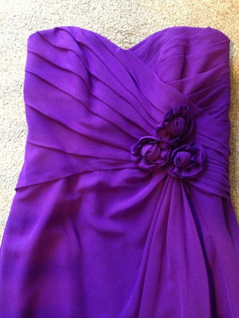 BRAND NEW ALFRED ANGELO BRIDESMAID DRESS IN VIOLA UK SIZE 26 | in ...