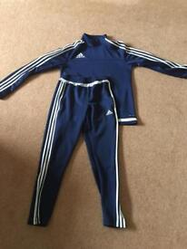 Adidas youths tracksuit