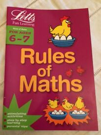 Letts age 6-7 Rules of Maths workbook