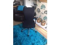 Black High back Swivel Office Chair (3 in stock)