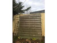 Fence panel & Lattice