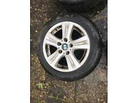 Genuine WINTER Wheels Bmw 1 Series Winter Wheels E87 6779696 Style 22. Condition is Used