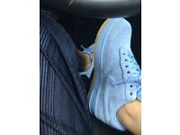 Air force 1 premium baby blue size 5.5