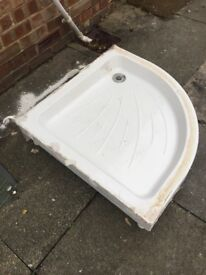 Easy plumb shower tray corner rounded 800 x 800