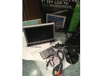 """TFT 7"""" Colour LCD Portable Television"""