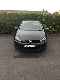 Vw mk6 golf 1.6 tdi s 59 plate in great condition full service history with long mot