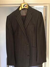 Ben Sherman suit 42 jacket 36/31.5 in L leg like new worn once