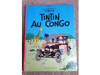 Tintin Au Congo 1970 in French Good Condition