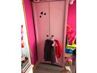Pink heart wardrobe