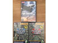 Flight Simulator 2004 & UK VFR Photographic Scenery South England