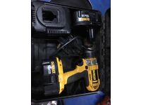 Dewalt DC988 cordless drill with two batteries