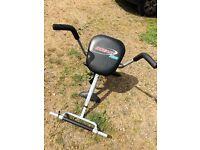 Ab exercise machine