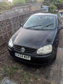 Volkswagen Golf 1.6 FSI SE 5door Hatchback in Black