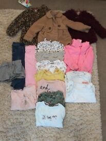 Girls 2 years winter bundle next and river island