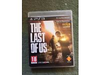 The Last of Us - PS3 (superb condition)