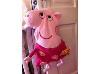Peppa Pig PJ Case/ Hot Water Bottle Cover