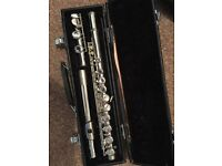 Student Flute and case