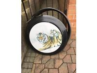 Pajero spare wheel cover