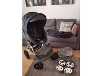 Stokke Scoot with Accessories - Excellent Condition