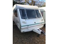 1999 abbey Dorset 2 Berth with full awning