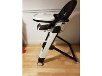 The multifunction ultra compact high chair , RRP price £180.